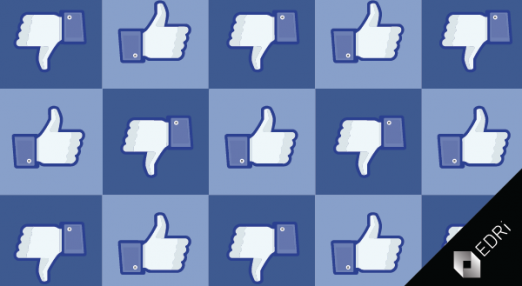 Facebook like/dislike button