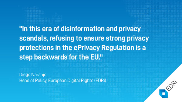ePrivacy: EU Member States push crucial reform on privacy norms close to a dead end