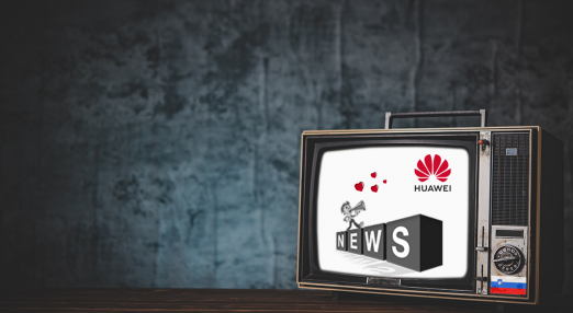 Huawei controlled news
