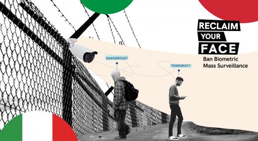 Biometric mass surveillance in Italy