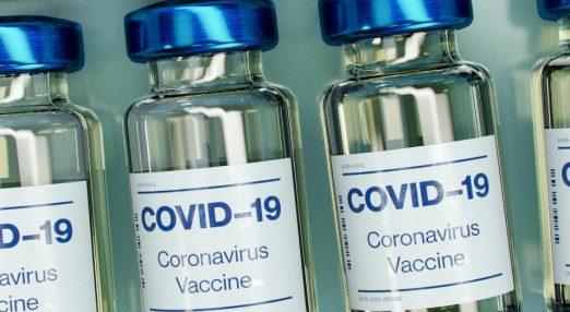 Vaccine Bottle Mockup (does not depict actual vaccine).
