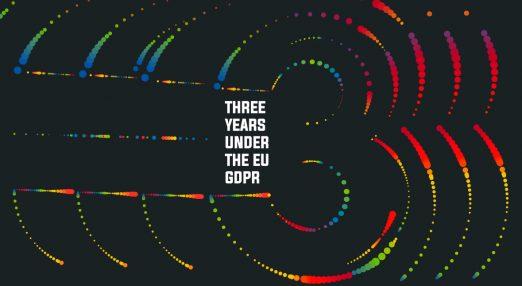Three years under the GDPR