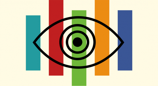 A spying eye.