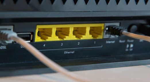 An image of a router