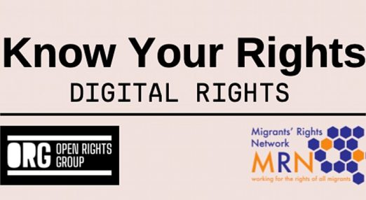 """""""Know your rights. Digital Rights"""""""