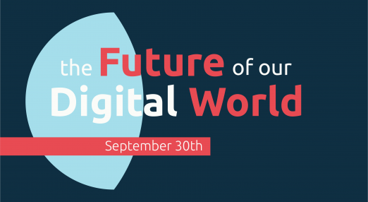 The future of our digital world. September 30.