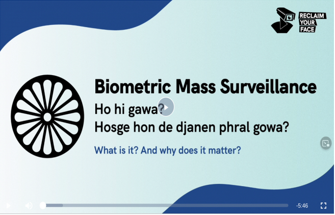 Biometric Mass Surveillance
