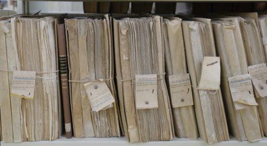 Old paper registers