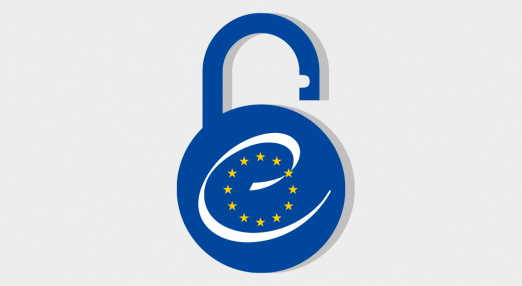 EU logo on a lock